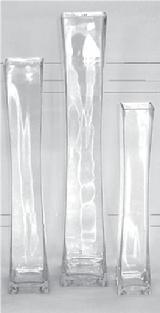 Tall Lighthouse Vases