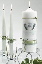 1077 Celtic Charm Unity Candle