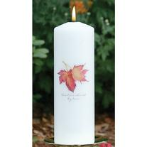 10432 Maple Leaf Unity Candle