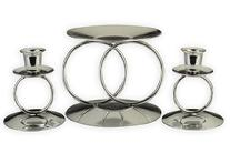 Double Ring Unity Candle Stand