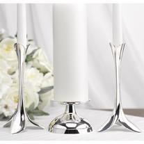 20714 Flower Petal Unity Candle Holder
