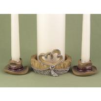 29213 Country Flair Unity Candle Stand