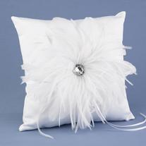29720 Feathered Flair Ring Pillow