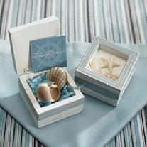 8459 Starfish Wooden Favour Box