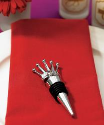 8865 King Crown Wine Stopper