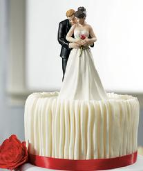 9210 The Rose Cake Topper