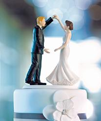 9356 Dancing the Night Away Cake Topper