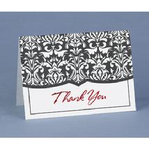 45538 Damask Thank You Cards