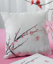 8693 Cherry Blossom Ring Pillow