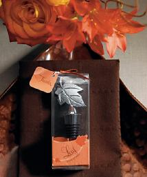 8868 Fall Leaf Wine Stopper